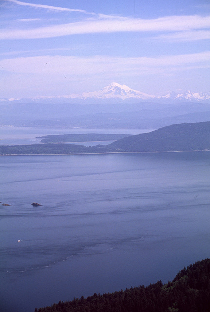 Mt. Baker from Orcas Island