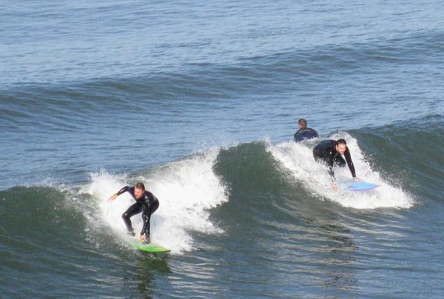 Oceanside Pier Surfing 0811a