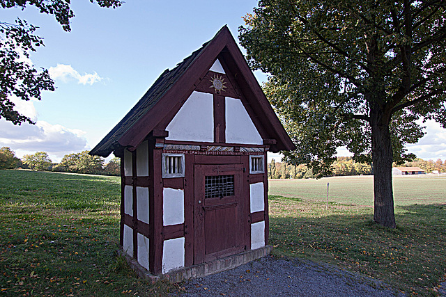 20121008 1540RWw Heiligenhäuschen, Wegekapelle
