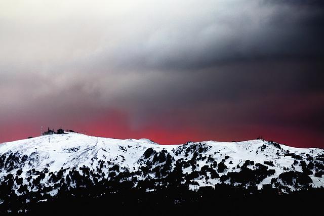 Apocalyptic sky