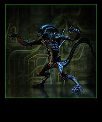 Alien vinyl toy