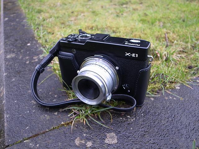 ipernity: Fuji X-E1 & Leica Summaron 3 5cm f3 5 + LTM-M mount + Fuji