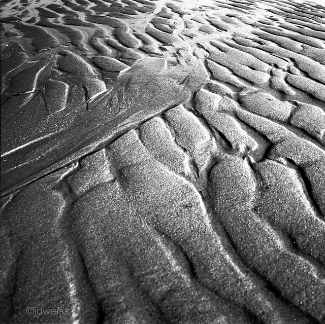 low tide on a winter afternoon #2
