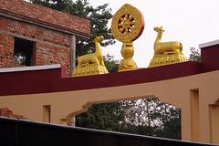 A Bodh-gaya (Bihar, Inde)