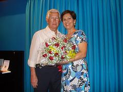 2008-10-25 - Edmo e Neide com flores - CCMS