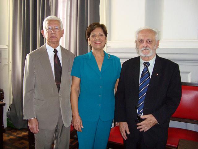 Edmo Rodrigues Lutterbach, Neide Barros Rêgo e José Inaldo Alonso