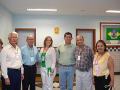 Edmo, Walmir, Fabiana, Sylla e Luzia