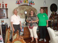 Edmo, Inge e Jürgen