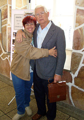 Angela Faria e Edmo Lutterbach