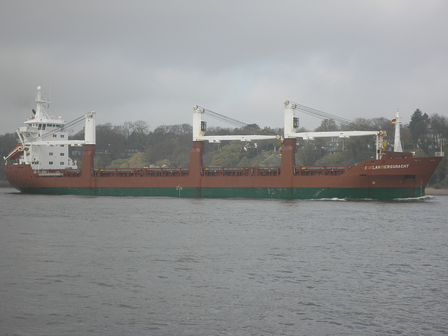 Frachter Egelantiersgracht