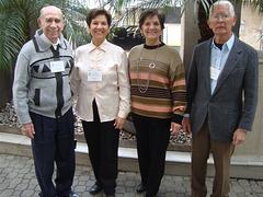 Walmir, Neide, Nilde e Edmo em São Paulo