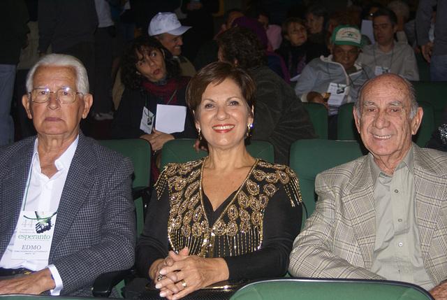 Edmo, Neide e Walmir em Juiz de Fora