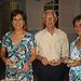 Neide, Edmo e Nilde no Centro Cultural Maria Sabina