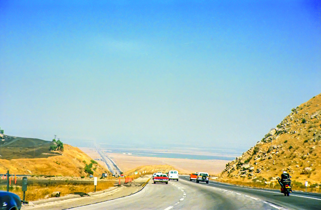 I-5 Northbound near Grapevine, Aug. 1979 (330°)