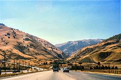 I-5 Southbound near Grapevine, 1979 (180°)