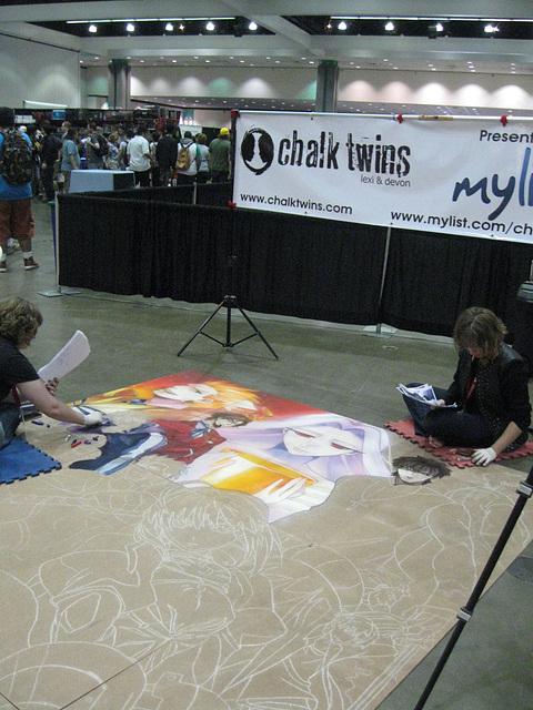 Anime Expo 2013:  Chalk Twins