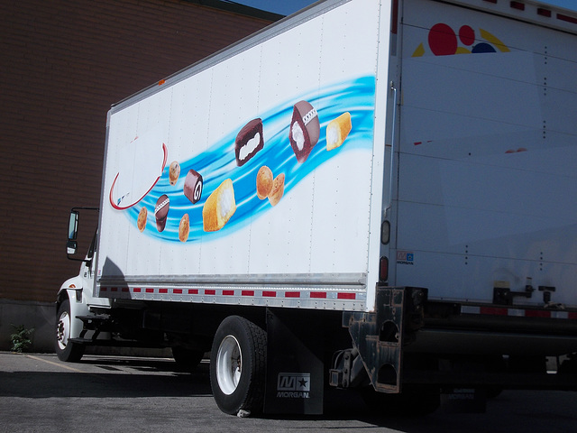 Hostess/Wonder delivery truck