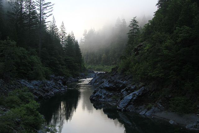 Early Morning, Smith River, California