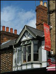 window on Walton Street