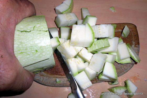 Tian au six légumes revisité et escalope panée    6