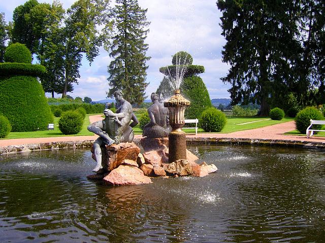 Dans le parc du château de Drée à Curbigny (71)