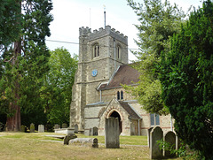 harpenden church, herts.