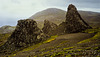 Macquarie Island 1968: Plateau seastacks