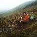 Macquarie Island 1968:  Taking a break on the plateau