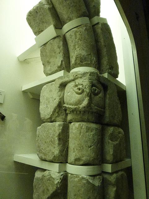 c12 window, st.albans museum, herts.