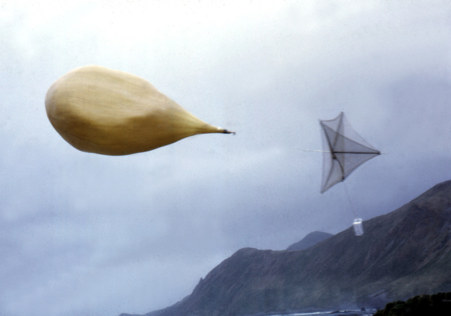 Macquarie Island 1968:  Away she goes!