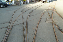 Isle of Man 2013 – Tramway rails