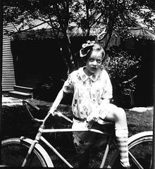 My dad's sister, c 1928