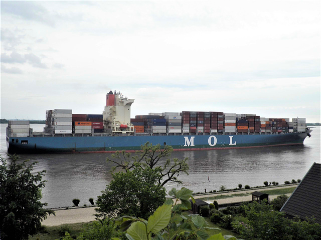 Containerschiff   M O L   Competence