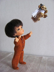 Ratatosk and his flying squirrel