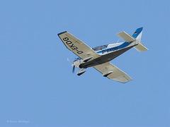 Über der Wilhelma - Flugzeug II