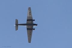 Junkers JU 52/3m (HB-HOS) über der Wilhelma