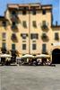 Marktplatz in Lucca (Toscana)