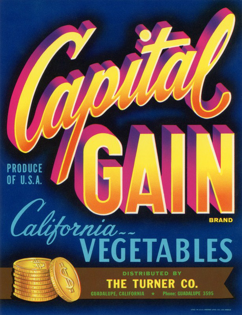 Capital Gain Brand Vegetables