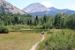 La Sal Mountains, Utah, USA