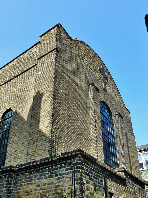 st.barnabas church, shacklewell, hackney, london