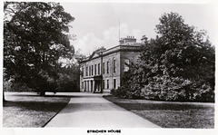 Strichen House, Aberdeenshire (now a ruin)