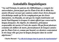 30-Lingva aŭtodafeo :Autodafé-linguistique-FR