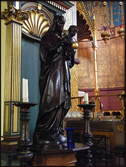 statue in St Barnabas