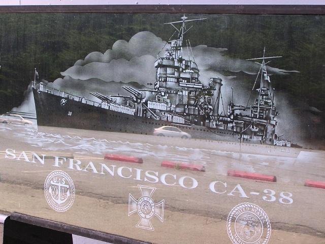 USS San Francisco (p6291097)