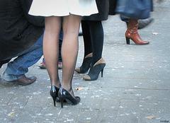 Sabine alias Missfujii /  Talons hauts assortis - Sidewalk high-heeled Ladies.