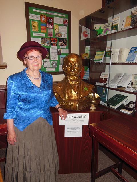 Marie Minářová el Svitavy kiel Klara Zamenhof
