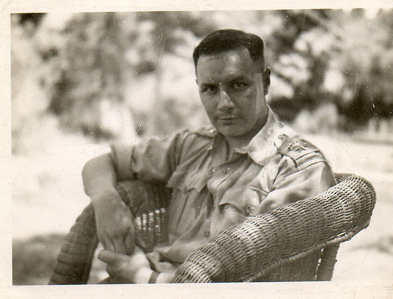 My dad during the war