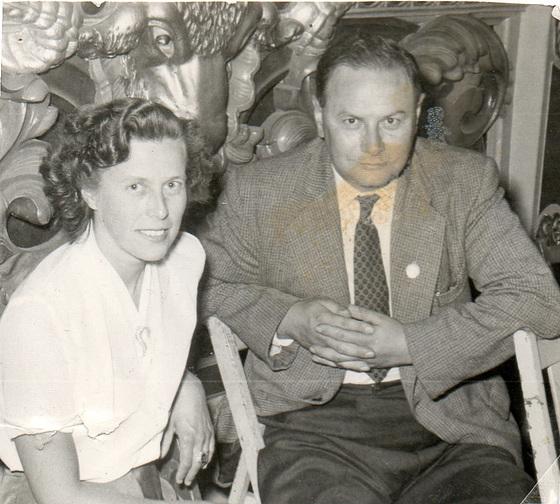 Mum & Dad at Butlin's in 1956