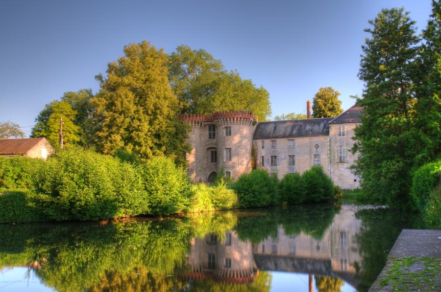 Milly la forêt, château de la Bonde