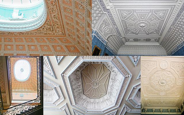 Claydon House ceilings